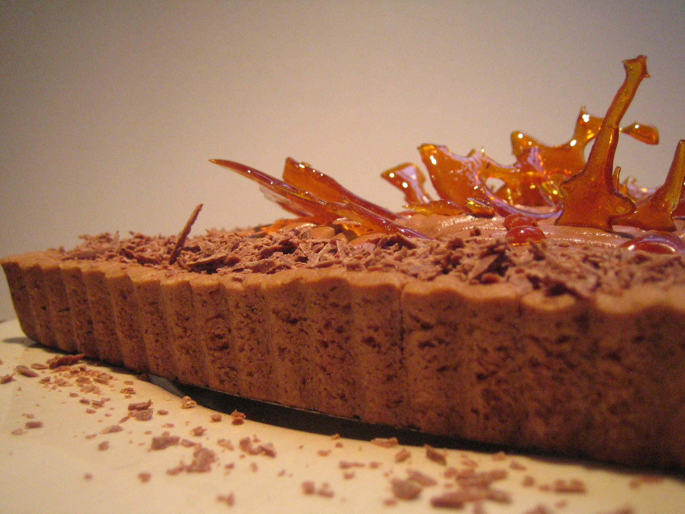 Milk Chocolate & Caramel Tart