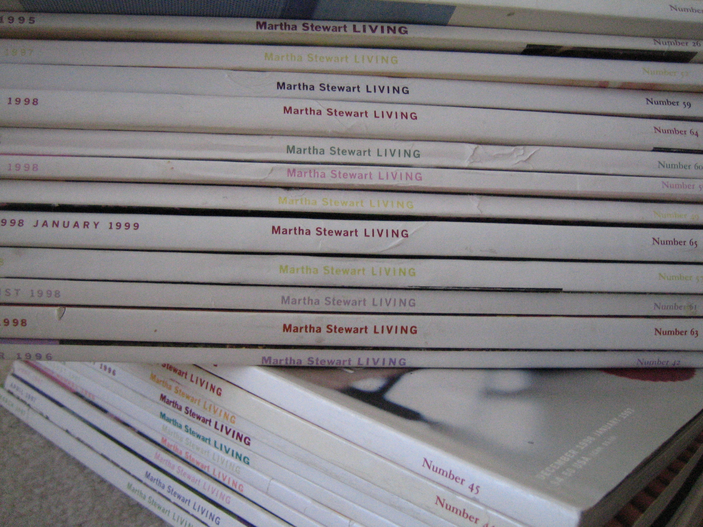 I have nearly every Martha published…