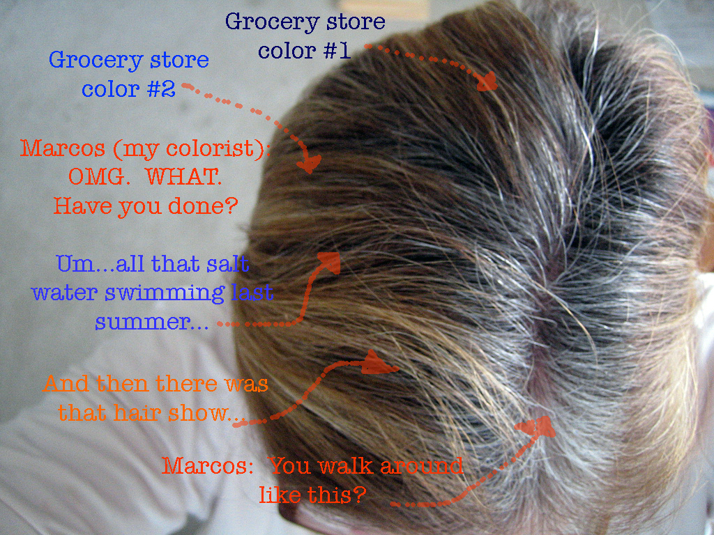 Anatomy of a Hair Job